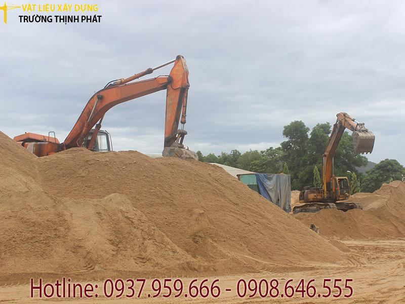 Bảng báo giá cát xây dựng tại quận 1 Tphcm
