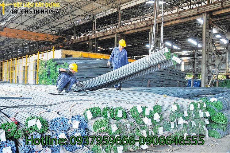 Sản xuất thép tăng 4,6% trong 10 tháng đầu năm