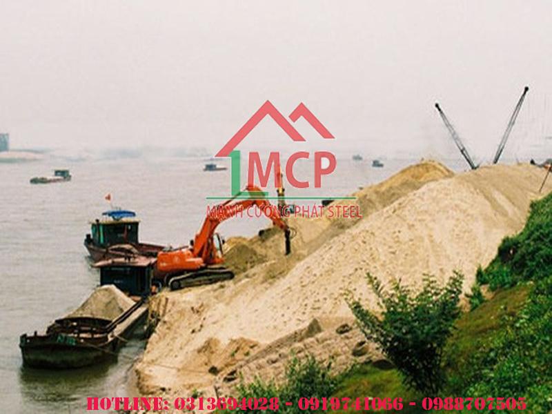 Bảng báo giá cát xây dựng Quận 10