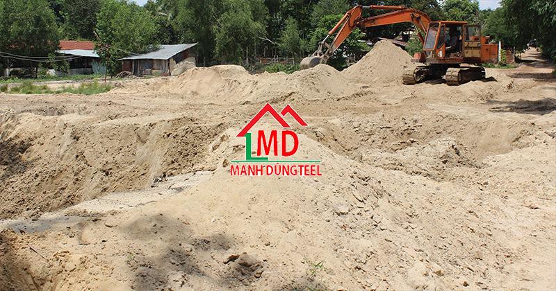 Bảng báo giá cát xây tô tại Tphcm  - Thép Mạnh Dũng