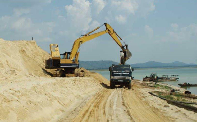 Báo giá cát đổ bê tông Bình Dương